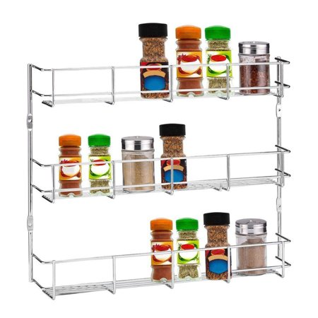 3 6 Tier Kitchen Wall Mounted Storage Rack Hanging