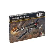 Italeri Models Hawker Typhoon MK.LB Late Kit Multi-Colored