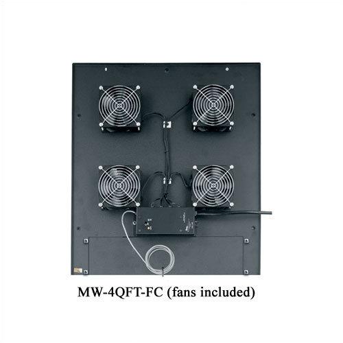 Middle Atlantic VMRK-54 Series 4 1/2'' Quiet Top Fan