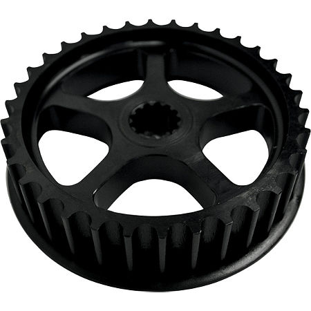 Baron Custom Accessories Front Power Pulley 34-Tooth Fits 06-13 Kawasaki VN900B Vulcan Classic