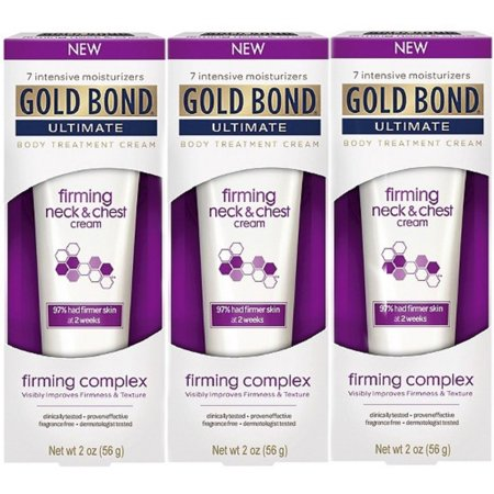 3 Pack - Gold Bond Ultimate Firming Neck & Chest Cream 2 Oz
