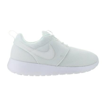 30c344726730 Kids Nike Roshe One GS White Wolf Grey 599729-102 - Walmart.com