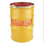 ZORO SELECT HM11001 Transport Drum,Open Head,110 gal.,Yellow