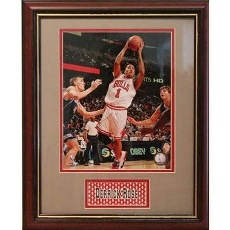 NBA Derek Rose Deluxe Frame, 11x14