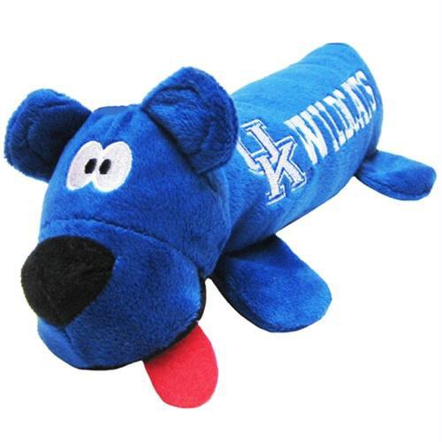 Kentucky Wildcats Plush Tube Dog Toy Walmart Com