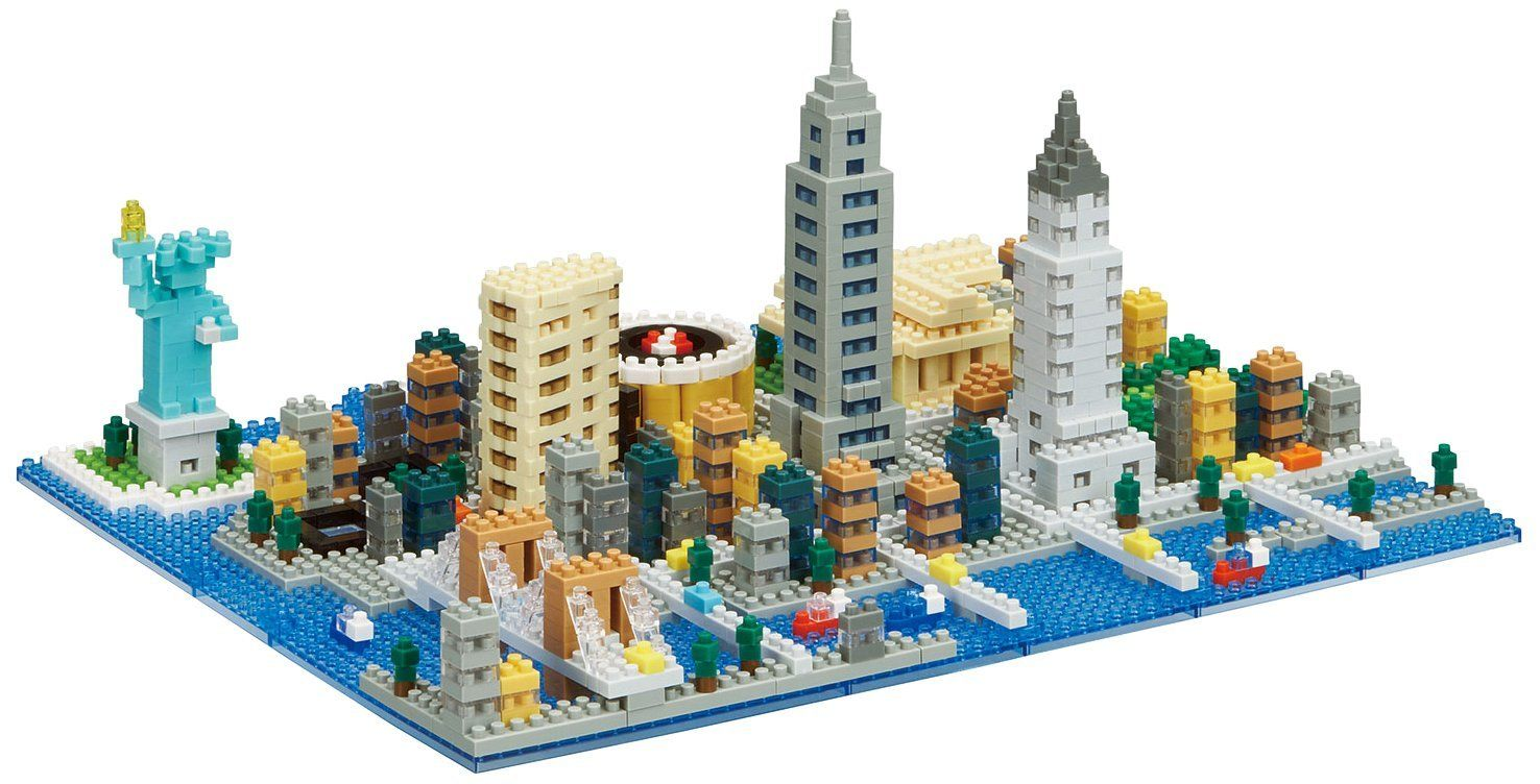 New York City Building Sets by Nanoblock (NB033) by nanoblock