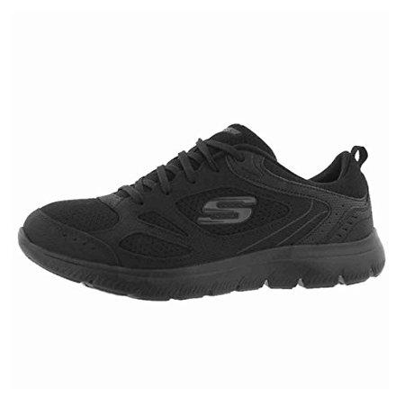 Skechers Summits Suited Womens Sneakers Black 8.5