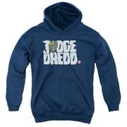 Judge Dredd Logo Big Boys Pullover Hoodie