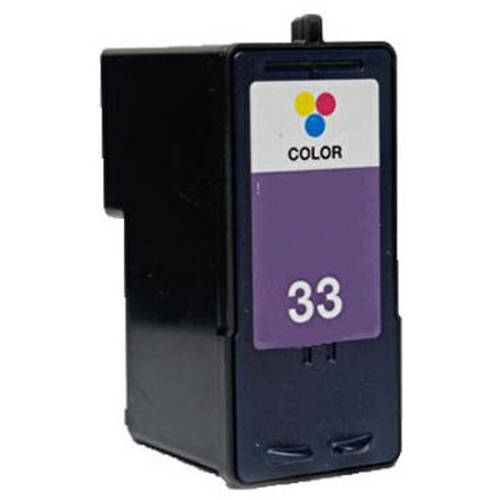 Universal Inkjet Premium Remanufactured Lexmark 18C0033/33 Cartridge, Color