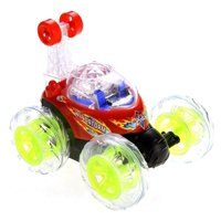 Amazing Invincible Twister - Remote Control Car w/ Lights and Sound, Spinning Action: Spirals, Flips, and Twist. Bright LED Lights For Night Time Fun Incredibly Sturdy and Well Built
