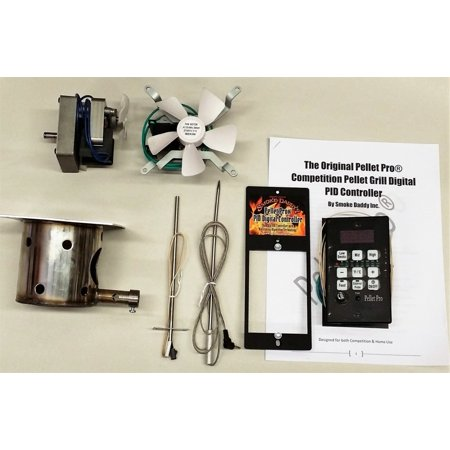 PID Controller *Complete* Upgrade Kit for Traeger, Pit Boss, & Camp Chef  Pellet Grills