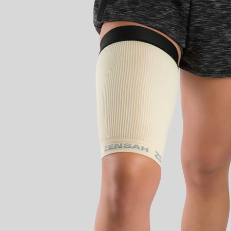 Thigh Compression Sleeve L / Beige