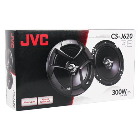 Coaxial Speakers System - JVC CSJ620 6.5