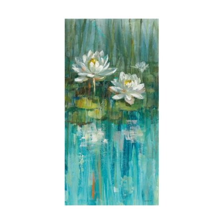 Water Lily Pond V2 III Print Wall Art By Danhui Nai - Halloween Water Lily Description