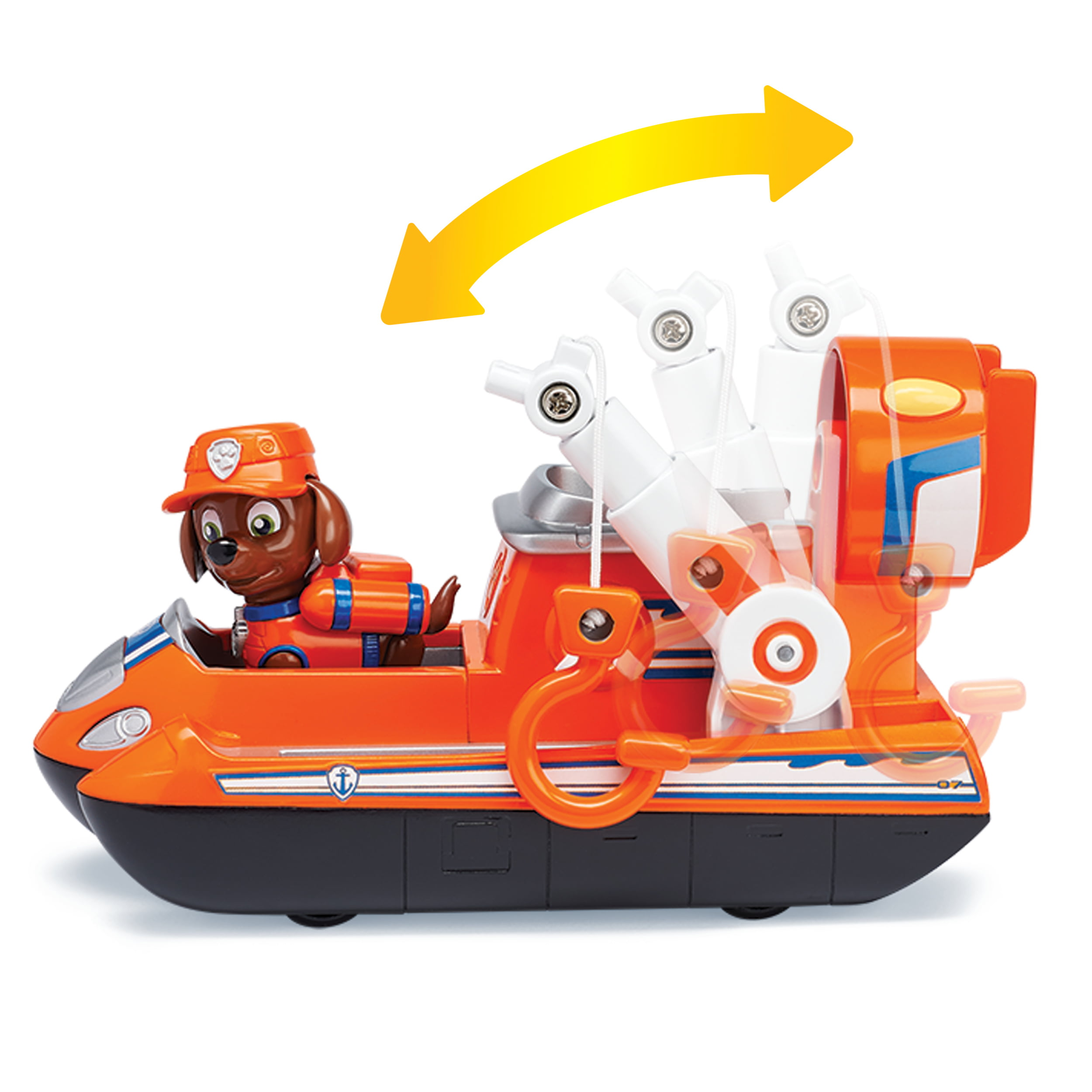 Zuma/'s Ultimate Rescue Hovercraft with Moving Pr... PAW Patrol Ultimate Rescue