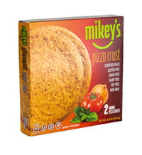 Mikey's Round Gluten Free Pizza Crust, 2 round pizza crusts