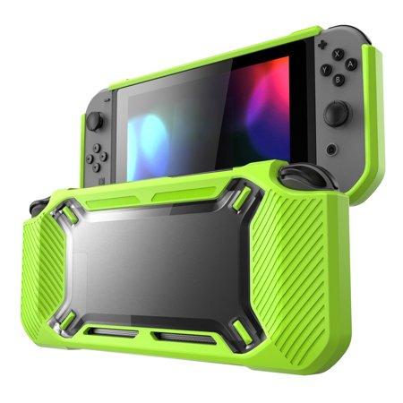 Razr Rubberized Snap (TSV case for Nintendo Switch, [Heavy Duty] Slim Rubberized [Snap on] Hard Case Cover for Nintendo Switch 2017 release )