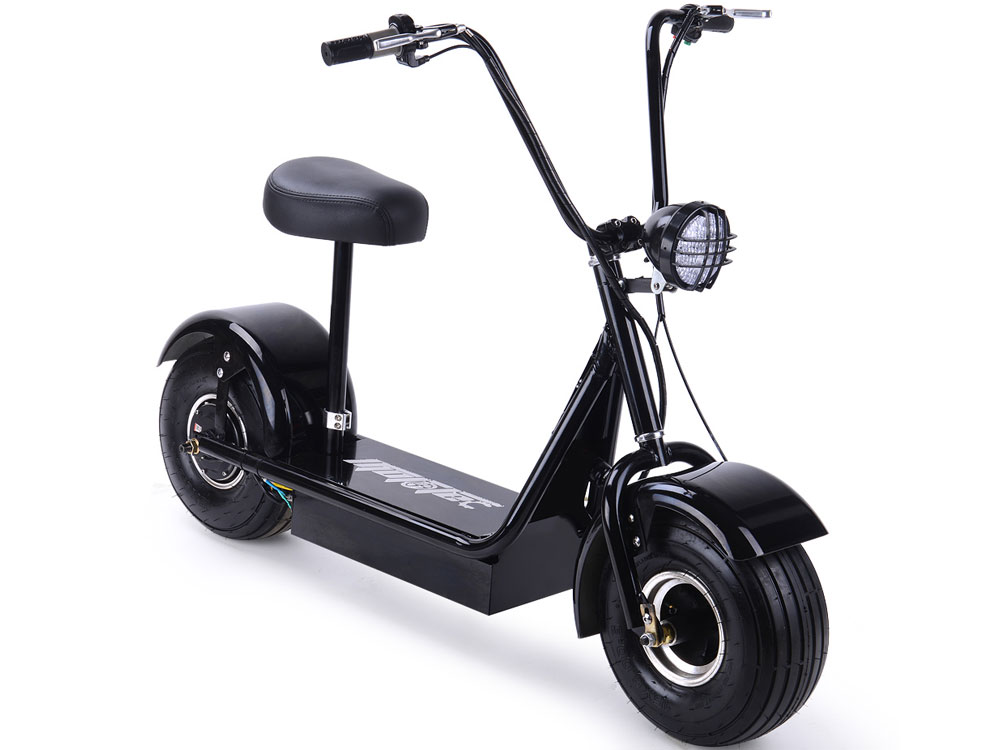 MotoTec FatBoy 48v 500w Electric Scooter MT-FatBoy-500 Capacity 250 Lbs by