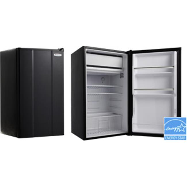 MicroFridge Compact Refrigerator, Black - 3.6 cu ft.