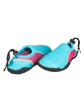 e4a063edb4df2 Product Image Sara Z Girls Neoprene and Mesh Water Beach Shoe Size 10 11  Turquoise Pink