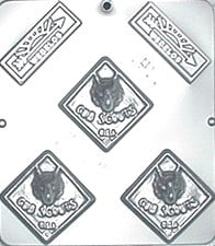 1211 Cub Scouts Chocolate Candy Mold by
