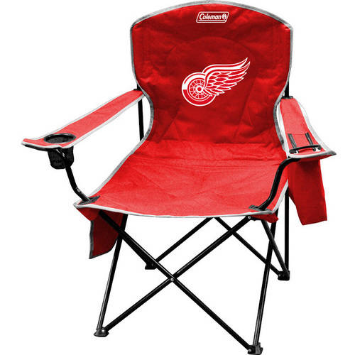 NHL Detroit Red Wings Cooler Quad Chair from Coleman by Rawlings