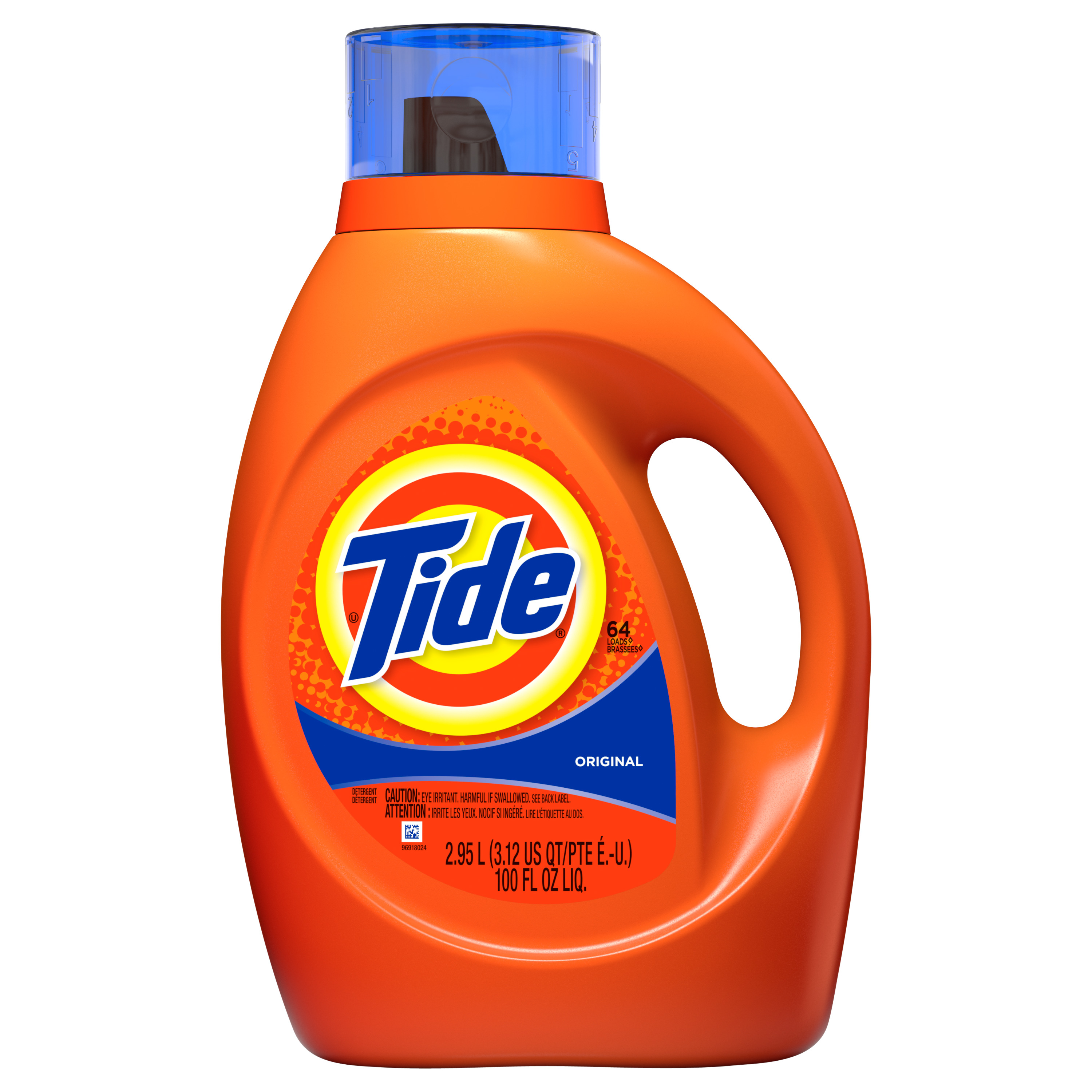 Tide Original Scent Liquid Laundry Detergent, 64 loads, 2.95 L