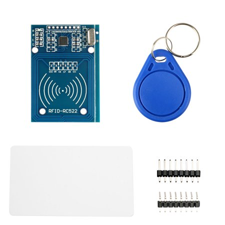 RFID Kit, Mifare RC522 Card Read Antenna RF Module RFID Reader IC Card Proximity Module 13.56mhz MFRC-522 with Key
