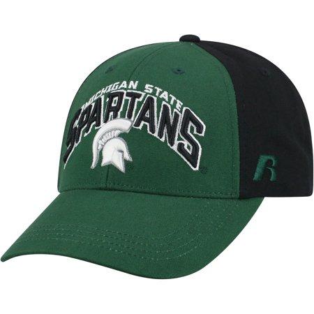 Men's Green/Black Michigan State Spartans Tastic Adjustable Hat - OSFA