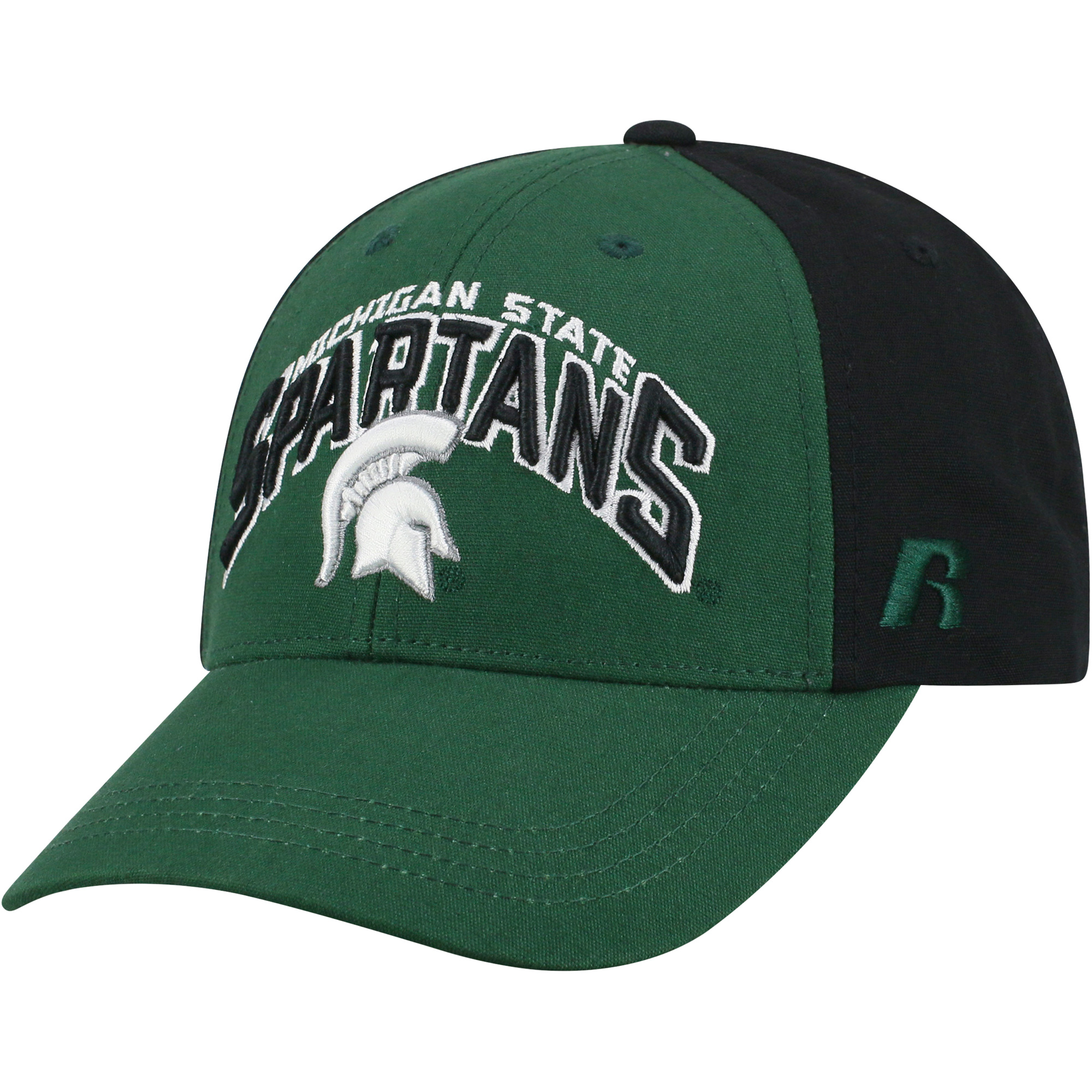 Men's Green/Black Michigan State Spartans Tastic Adjustable Hat - OSFA