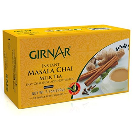 Girnar Instant Chai Tea Premix With Masala, 10 Sachet
