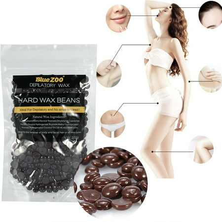 CHICIRIS 10 Different Flavours 100g/Bag Hard Wax Beans, Natural Full-Body Hair Removal Wax Bean Professional Solid Pearl Wax for Women and Men Stripless for Arms, Legs, Face, Armpit,Bikini (Best Hard Wax For Bikini Area)