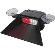 CODE 3 ESX1VS-RW Sngl Hd Dash/Deck Light,LED,Rd/Wh,3-3/4W