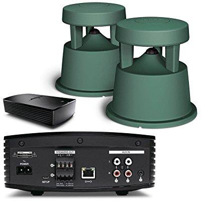 bose soundtouch sa-5 bluetooth & wifi enabled amplifier w/ free space 51 outdoor speakers (pair) - bundle