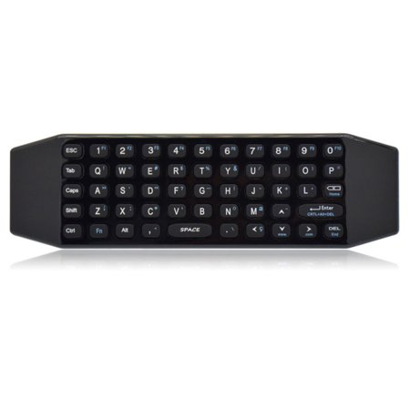 Smart Remote Replacement, BIFANS Fly Air Mouse Multifunctional Remote with Keyboard, Mini Wireless Keyboard & Remote Control for KODI Android Box HTPC IPTV PC Pad Xbox 360 (G64)