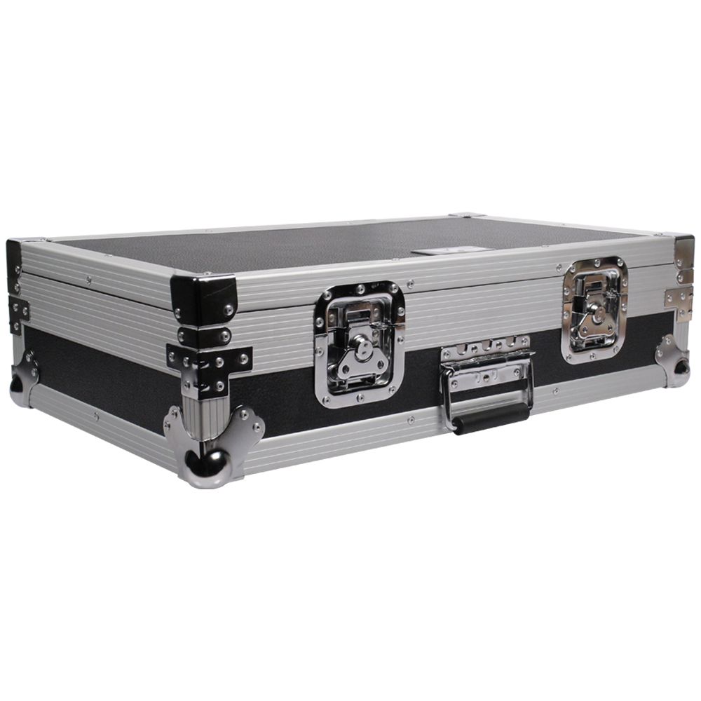 "Seismic Audio Pedal Board Case ATA 26"" Storage NEW Rack Silver - SARPBC1"