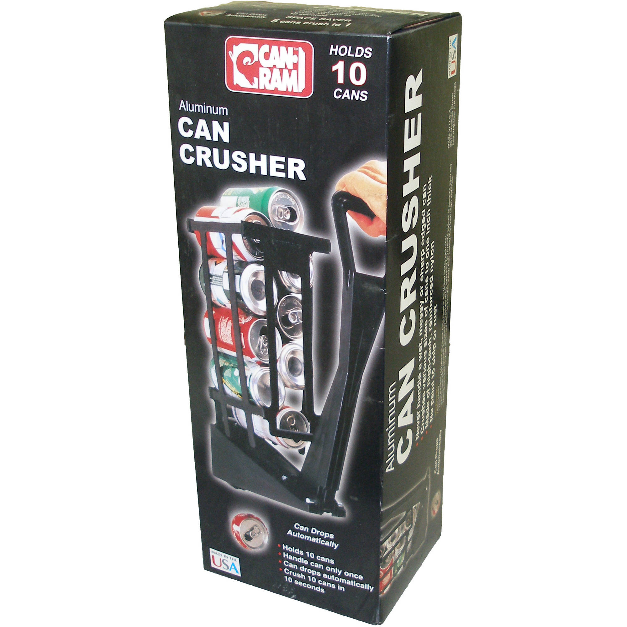 Can-Ram Aluminum Can Crusher