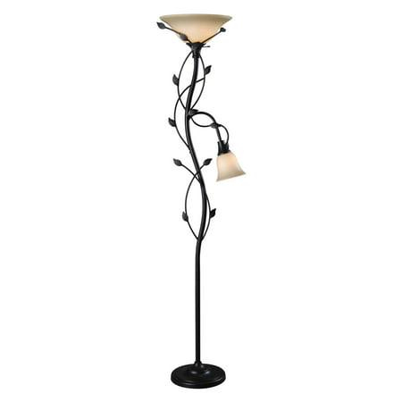 Kenroy home ashlen 2 light floor lamp walmart kenroy home ashlen 2 light floor lamp aloadofball Image collections