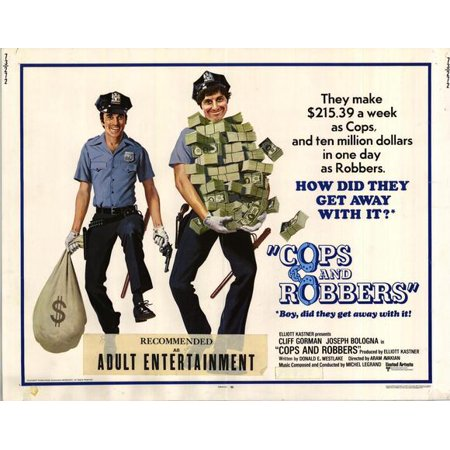 Cops and Robbers POSTER Movie Mini Promo