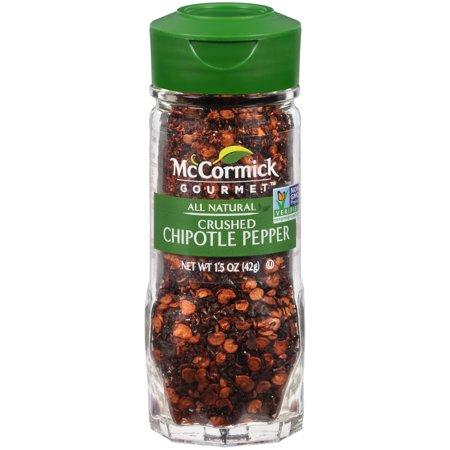McCormick Gourmet Crushed Chipotle Pepper, 1.5 (Pepper Mill Gourmet Blend)