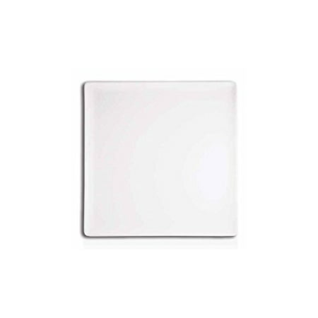 """Front Of The House DAP026WHP23 Mod 5"""" White Plate - 12 / CS"""
