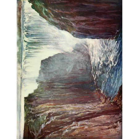 South Africa & the Transvaal War 1900 Below Victoria Falls Zambesi River Canvas Art - Unknown (18 x
