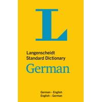 Langenscheidt Standard Dictionary German