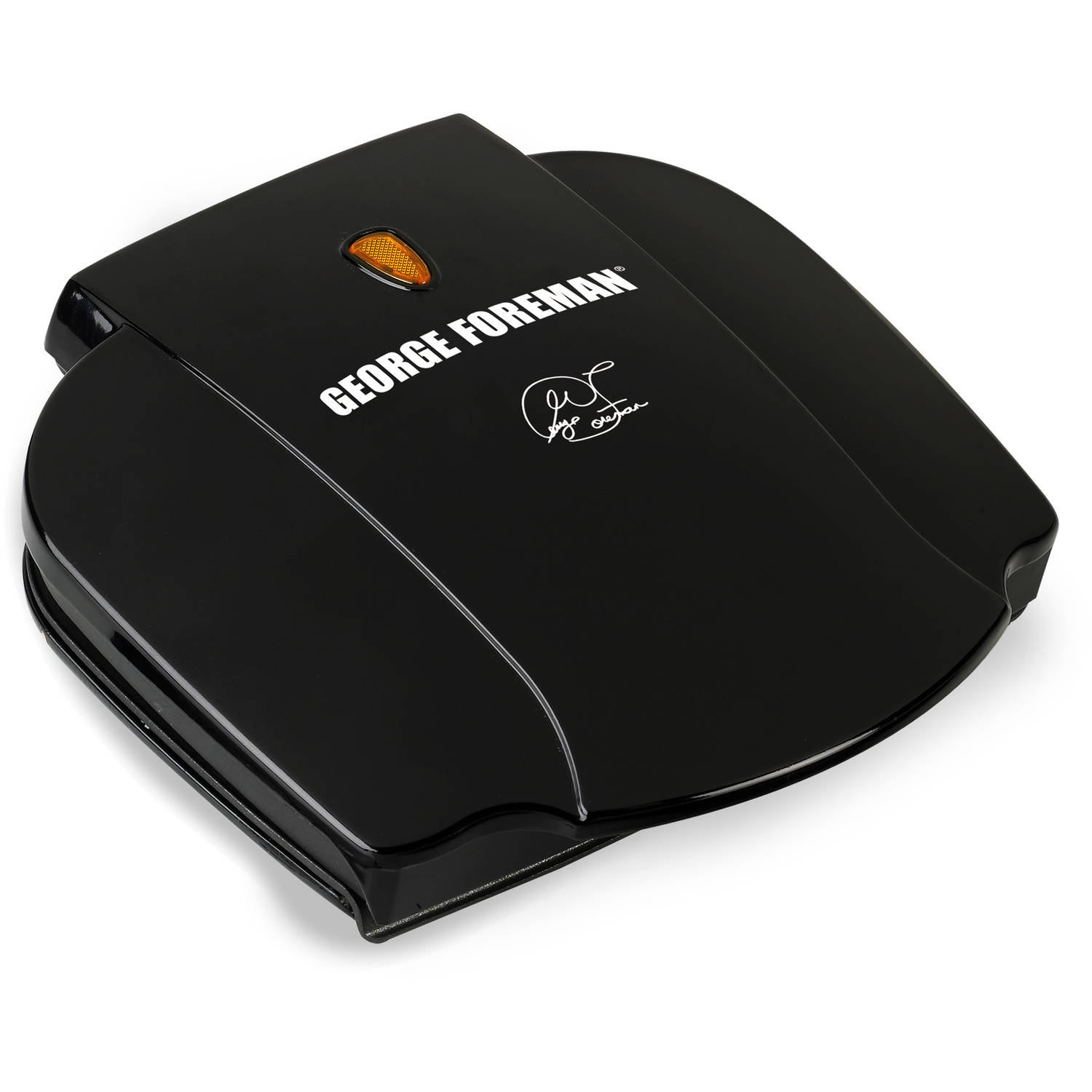 George Foreman 2-Serving Classic Plate Grill , Black