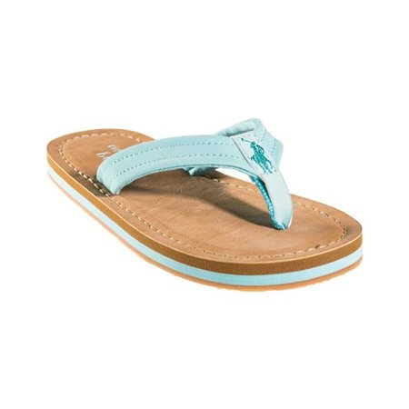 Girls' Polo Ralph Lauren Lia Flip Flop Sandal - Big Kid Kids Flip Flop
