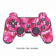 Vinyl Controller Sticker for PS3 Sony Playstation 3 Gamepad Protector Skin Wireless DualShock 3 Remote Decal Digicamo Pink