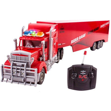 Toy Semi Truck Trailer 23 Quot Electric Hauler Remote Control