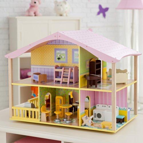KidKraft Pastel Swivel Deluxe Dollhouse