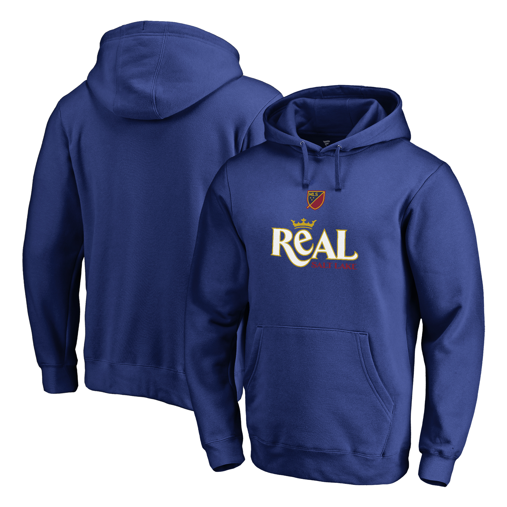 Real Salt Lake Fanatics Branded Shielded Pullover Hoodie - Royal
