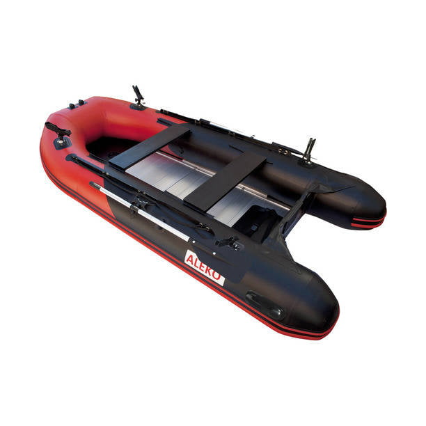 ALEKO PRO Fishing Inflatable Boat with Aluminum Floor - Front